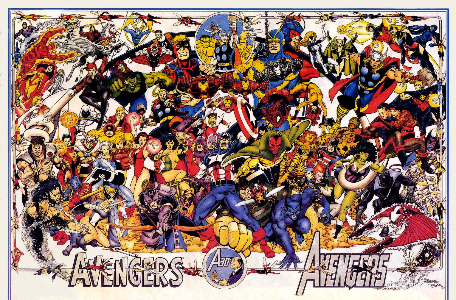 every avenger ever by george perez
