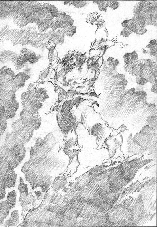 THE HULK by Gene Colan