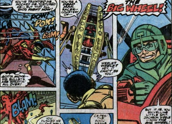AMAZING SPIDER-MAN BIG WHEEL