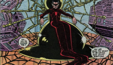 the first appearance of Madam Web