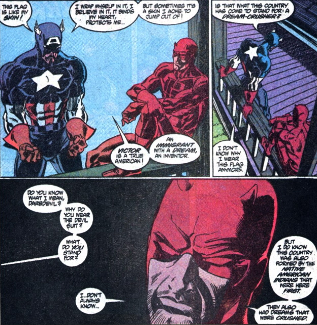 daredevil captain america 283