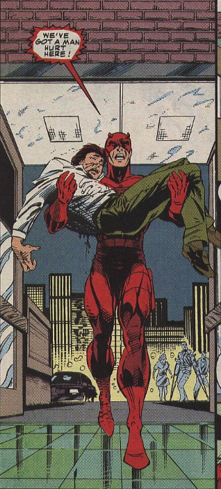 daredevil has a man