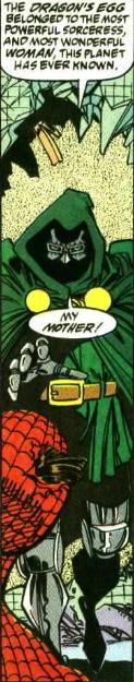 dr doom loves his mother