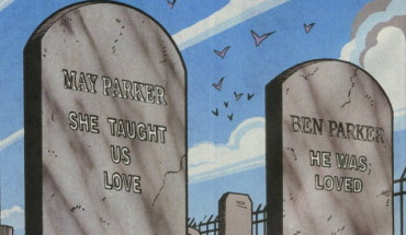 aunt may's tombstone