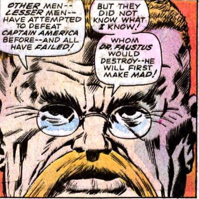 first appearance dr. faustus