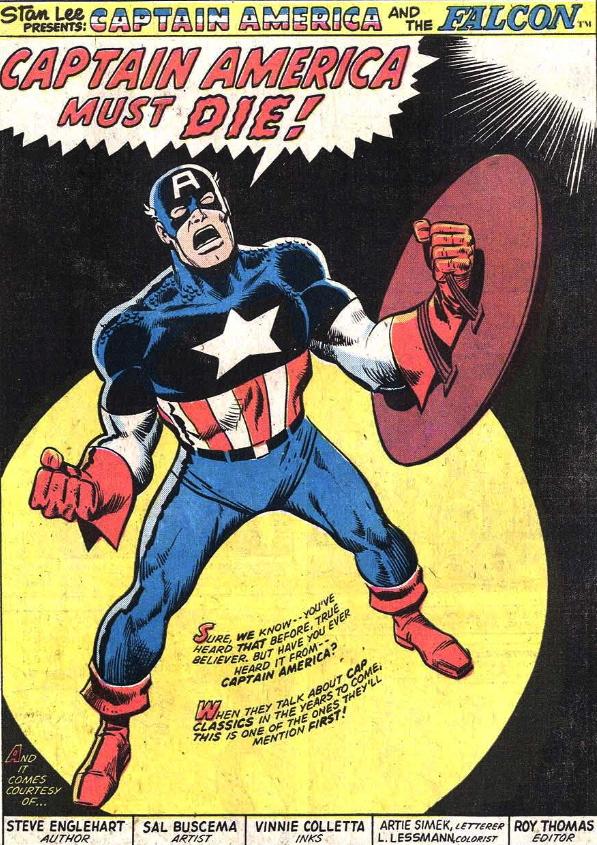 Captain America must die