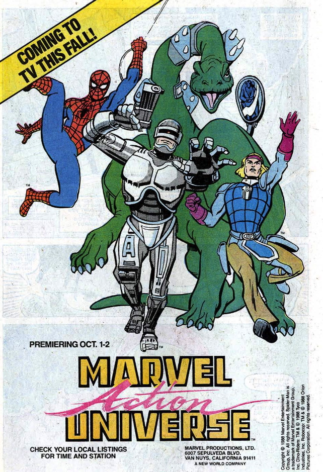 marvel action universe