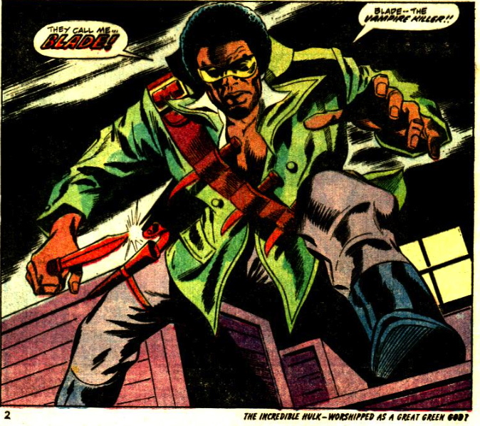first appearance blade vampire slayer