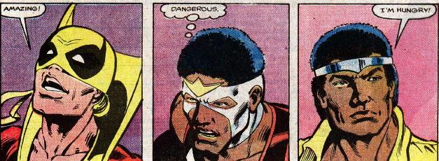 powerman iron fist falcon