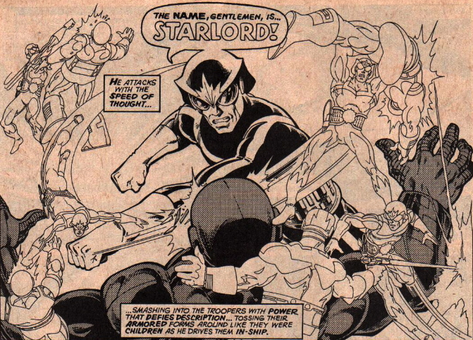 john byrne star-lord