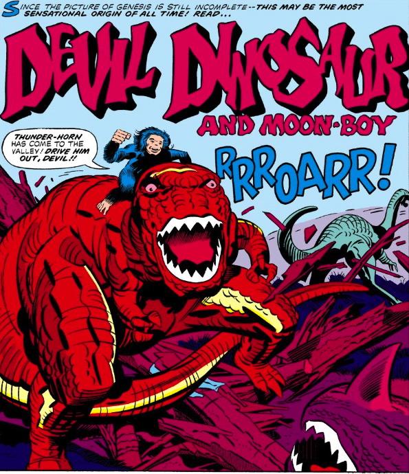 devil dinosaur #1 Jack Kirby