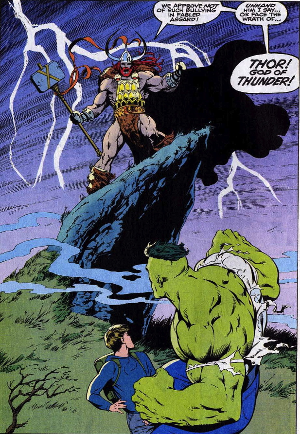 all new thor vs hulk