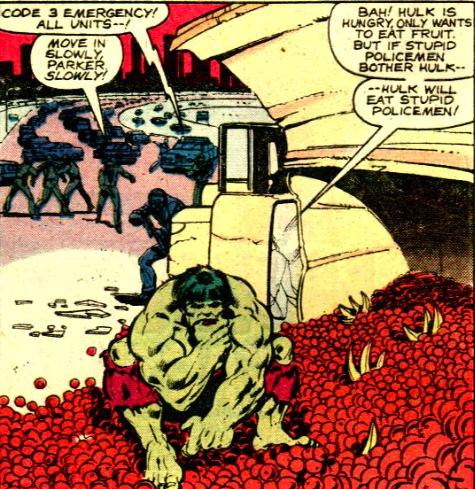 hulk eating