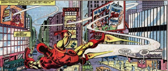 iron man 169 defeating billboards