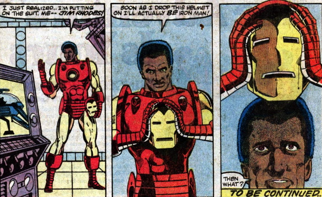 james rhodes becomes first black iron man