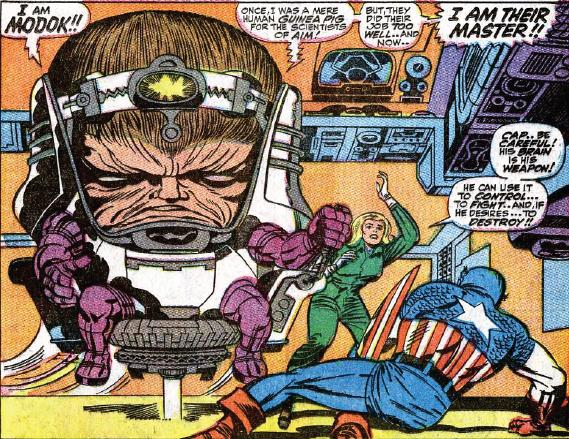 FIRST APPEARANCE MODOK