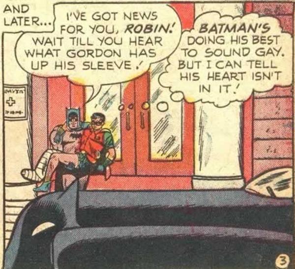 batman is gay with robin