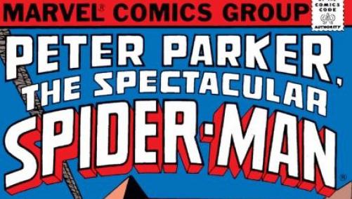 peter parker spectaular spider man logo