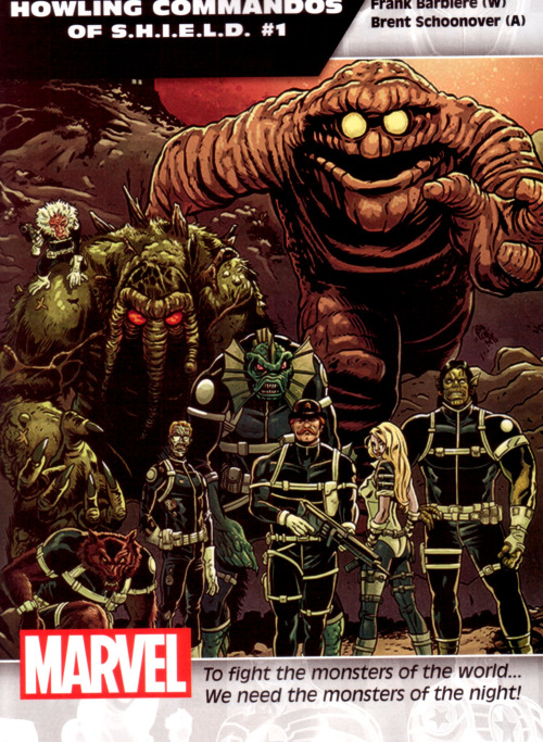 monster team howling commandos