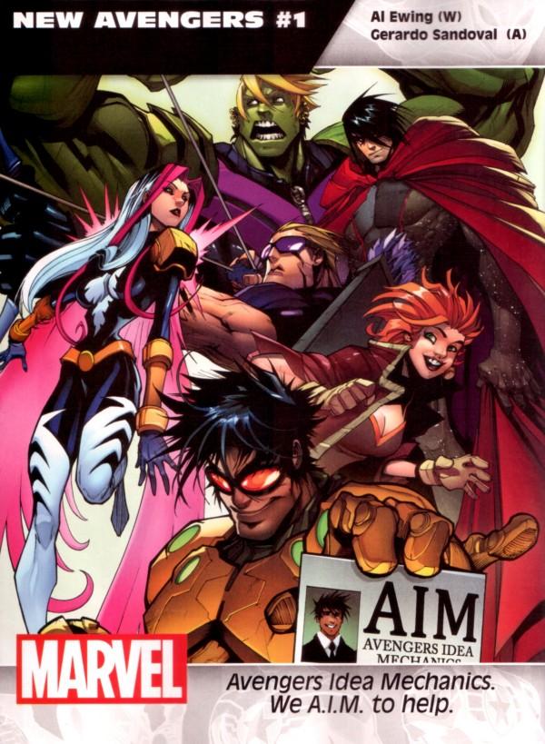new avengers #1 al ewing