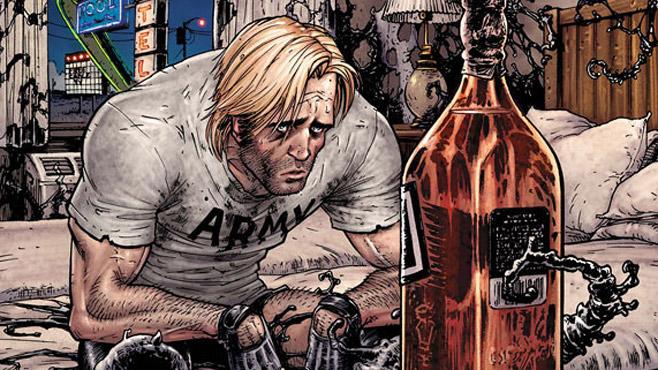 flash thompson alcoholic