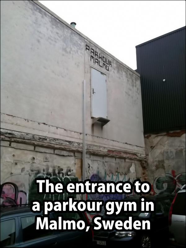 parkour gym