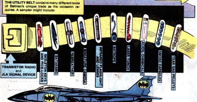 batman's utility belt