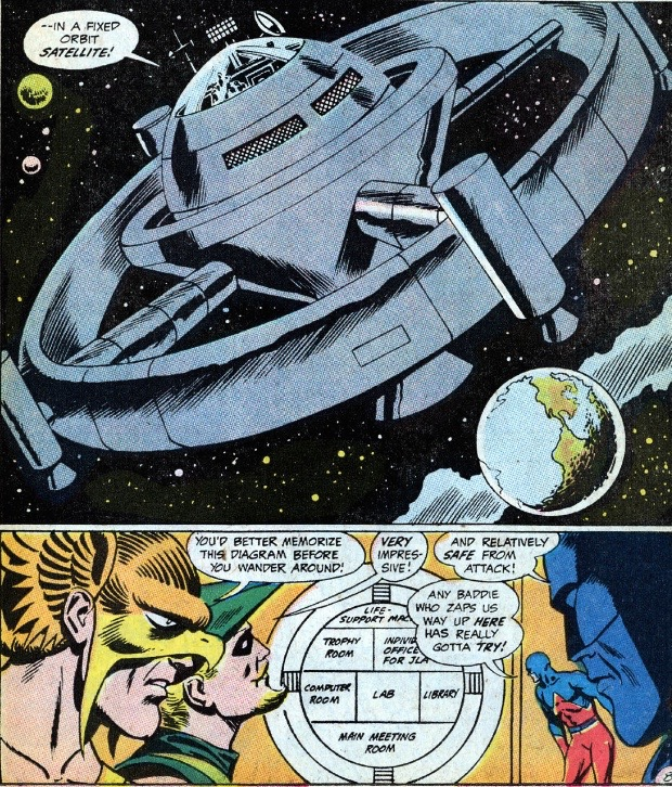 first appearance of jla satellite