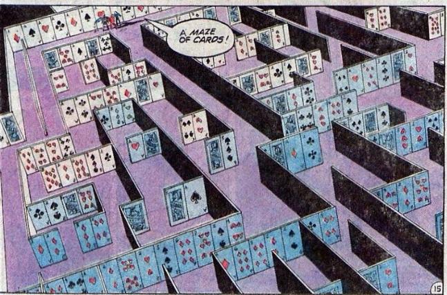 jla card maze