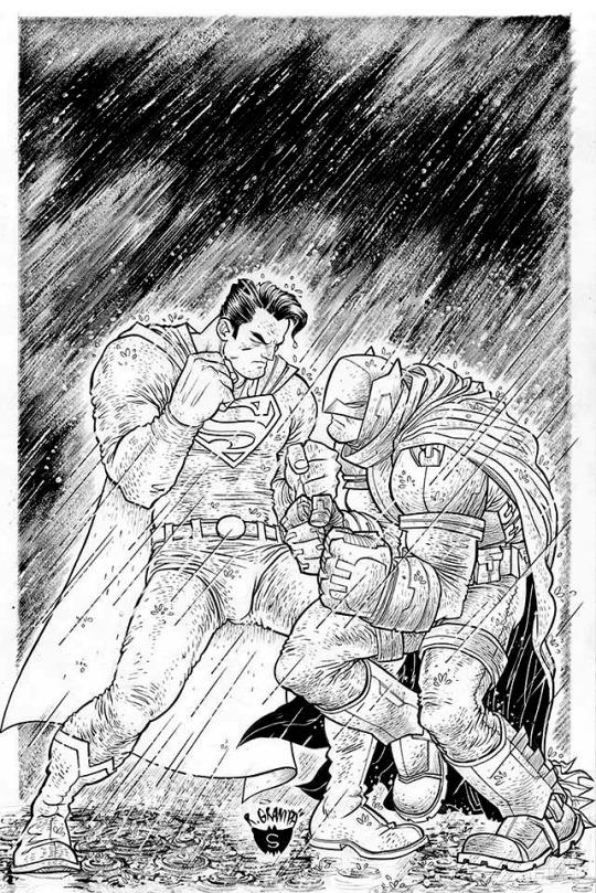 Batman v Superman by Rafael Grampá