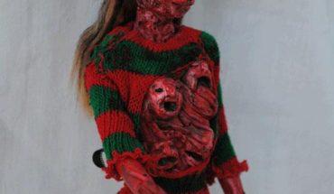 halloween barbie action figure