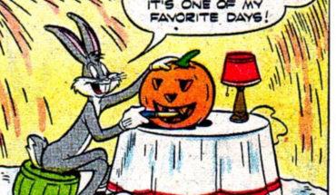 bugs bunny halloween pumpkin