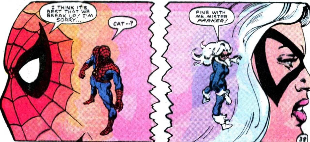 Peter Parker The Spectacular Spider Man 100 1985