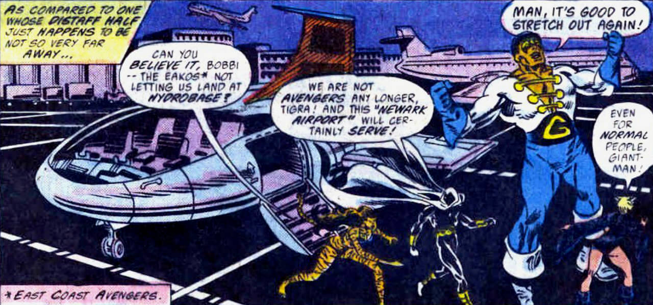Avengers West Coast 1985 series # 39 very fine comic book